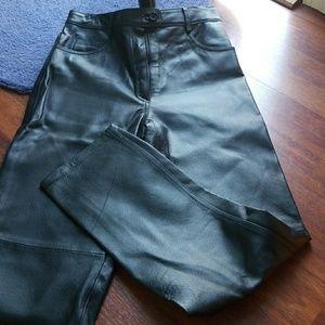 VINTAGE! SEXY! Black leather pants!